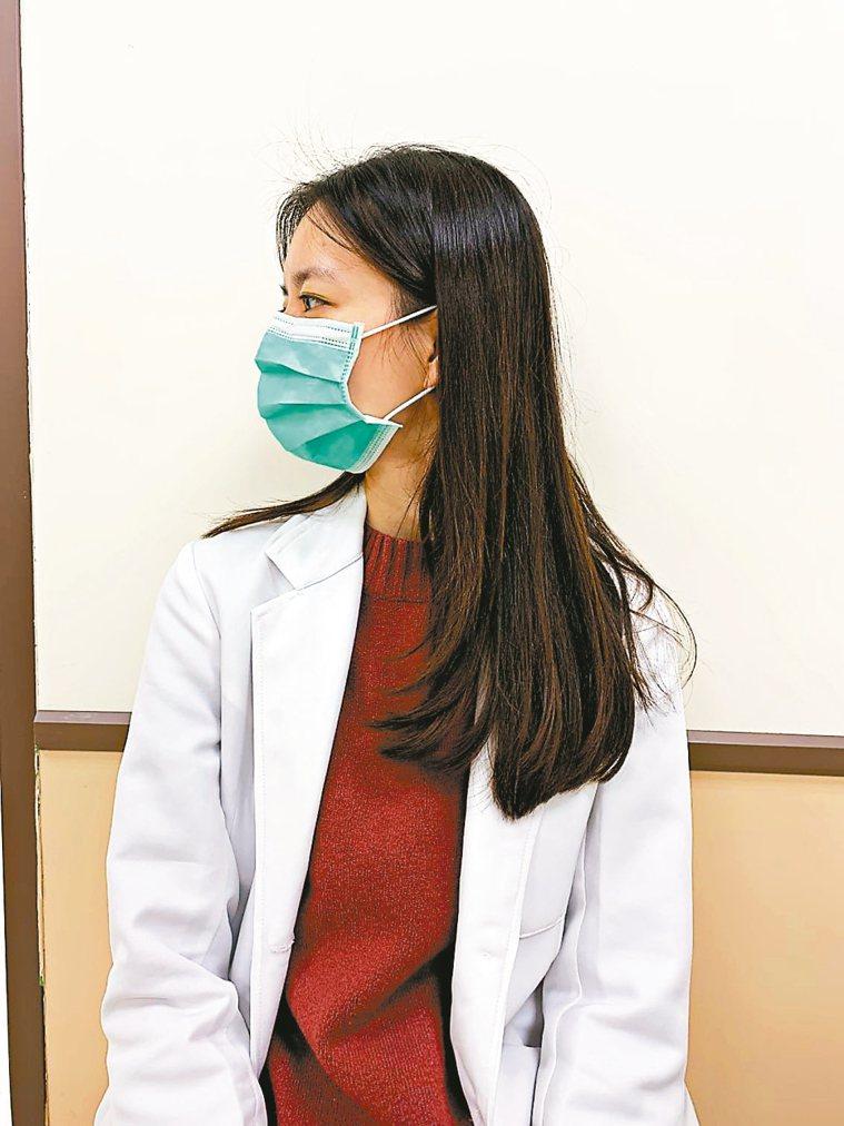 頸部伸展運動(圖2) 圖/台北醫學大學新國民醫院職能治療師葉芳瑜