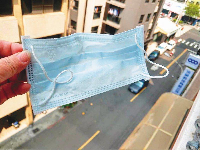 口罩即將開放可寄給海外親人,但可能因郵局已有多國不寄送而無法收到。圖/聯合報系資料照片