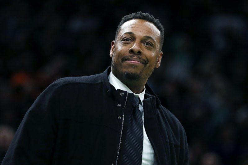 皮爾斯預約明年進入籃球名入堂。 美聯社