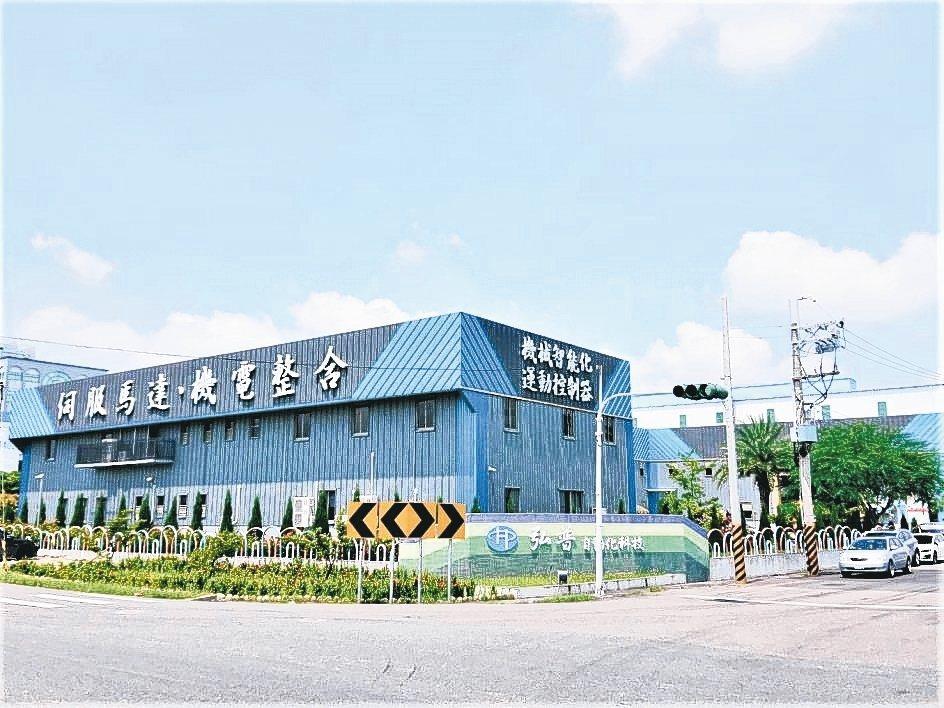 採用Novelis打造的弘普科技廠房,為台灣建築美學建案之一。 莊智強/攝影