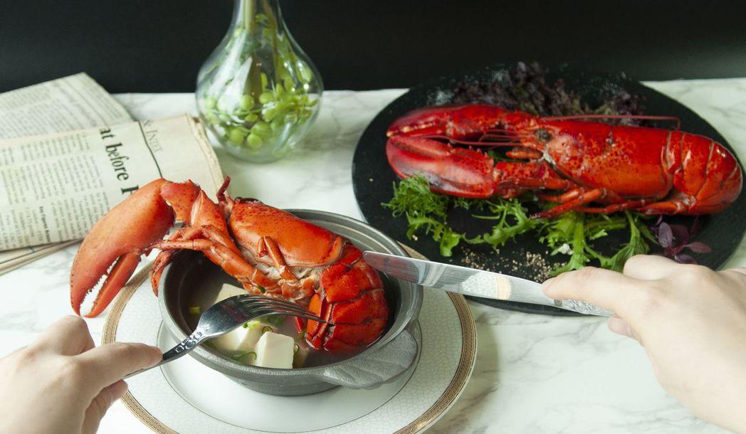 歐式自助餐限期提供龍蝦,CP值超高!  台南大飯店 提供