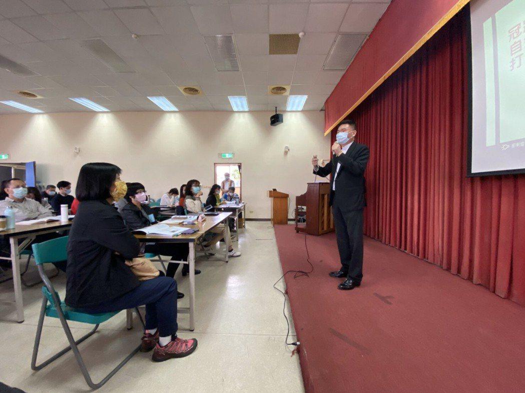 台灣觀光發展協會理事長林進榮表示;在執行訓練計劃的過程中,可以增加內需,刺激消費...