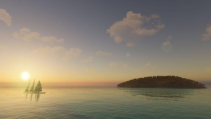 戴上VR眼鏡,所有地方都可以彈指而至,且熱帶海島可以下雪,沙漠可以變綠洲,高山與...