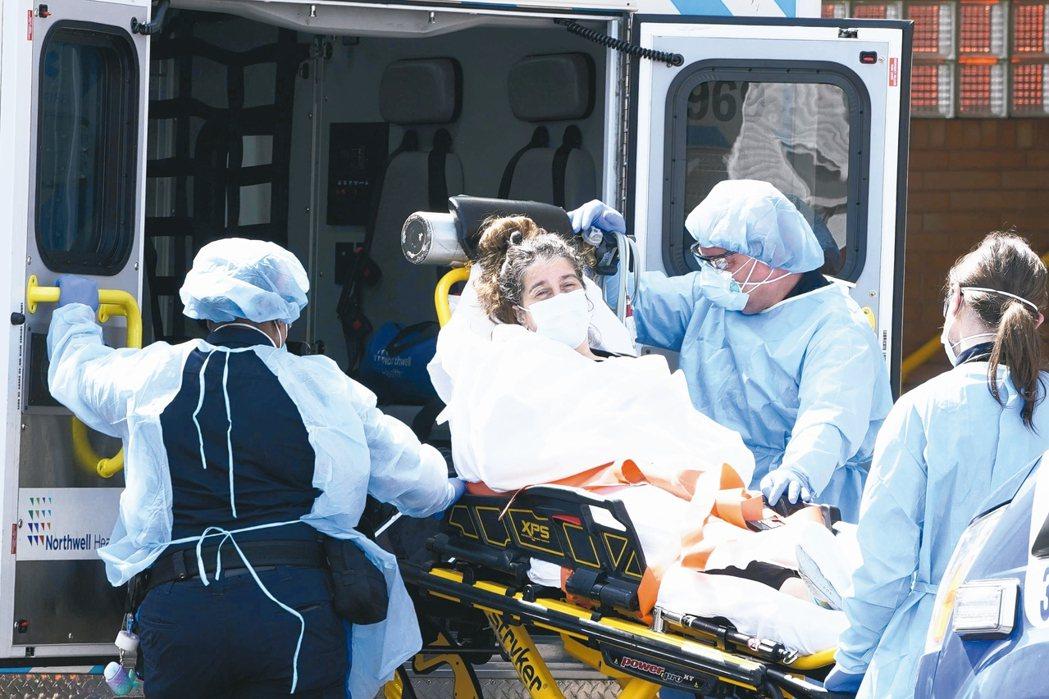 美國紐約州死亡人數首見減少,但新澤西州和紐奧良成為新熱點。 (法新社)