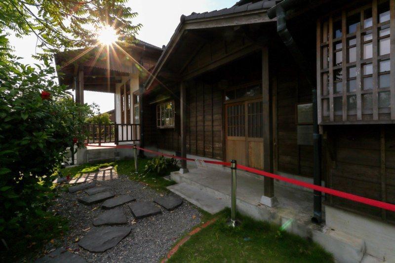 八田與一紀念園區,呈現日式典雅建築風格。 圖/台南市政府觀光旅遊局提供