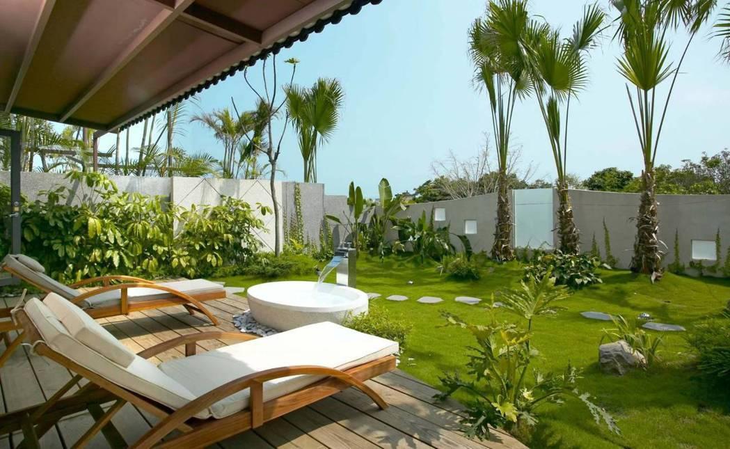 獨立Villa房型,讓人不必出國也彷彿身在海島渡假村 業者/提供