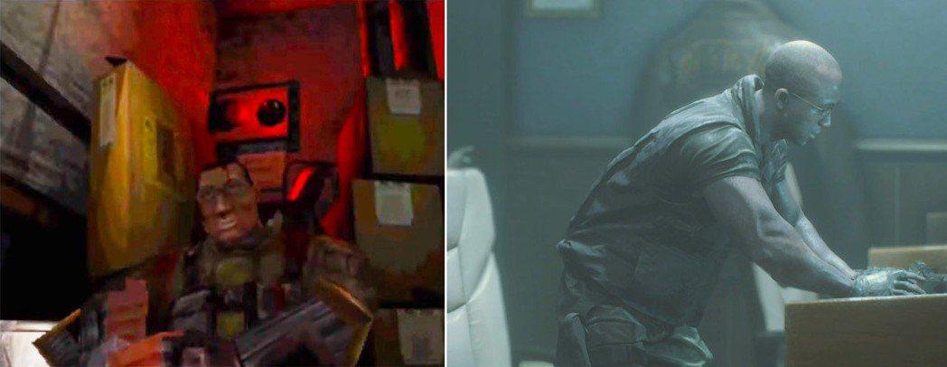 同樣身為保護傘傭兵部隊一分子的黑人眼鏡型男泰瑞爾,相較於舊版原作,這次他的戲份還...