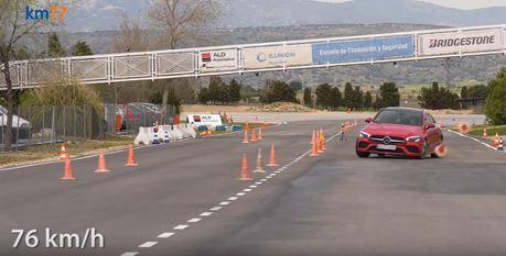 影/Mercedes CLA的麋鹿測試成績出爐!居然沒有想像中那麼好?
