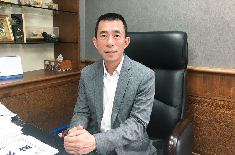 台北市旅行商業同業公會理事長吳志健。 圖/葉怡君