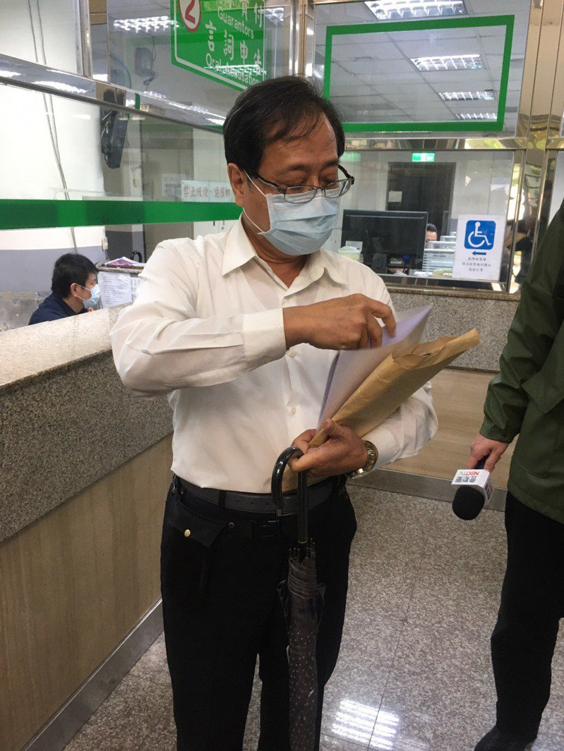 李來希日前出庭即強調言論自由,堅信自己沒有違法。記者陳俊智/攝影