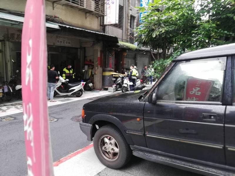 劉男今中午遭3名男子毆打成傷。記者蕭雅娟/翻攝