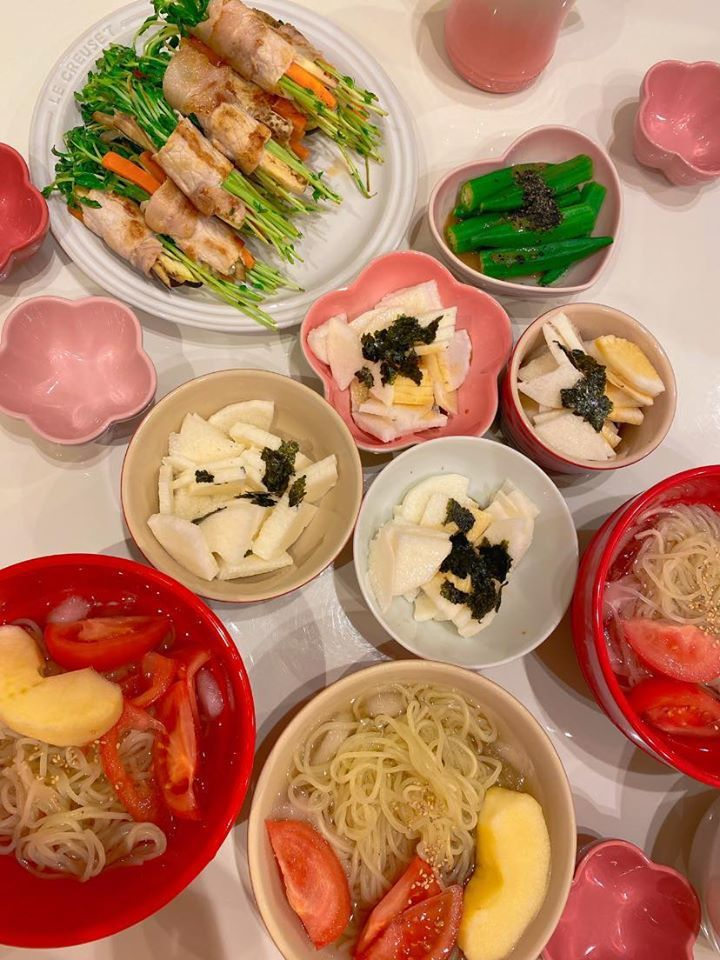 福原愛打造的料理讓粉絲直喊餓。圖/摘自臉書
