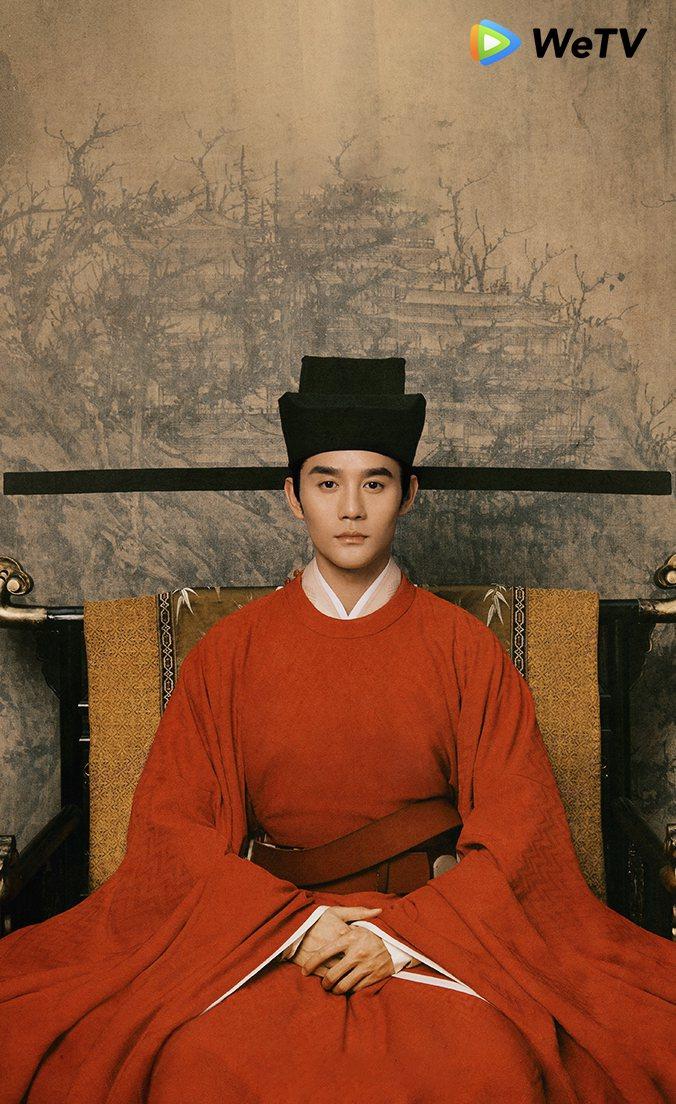 王凱相隔5年再次演出古裝劇。圖/WeTV提供
