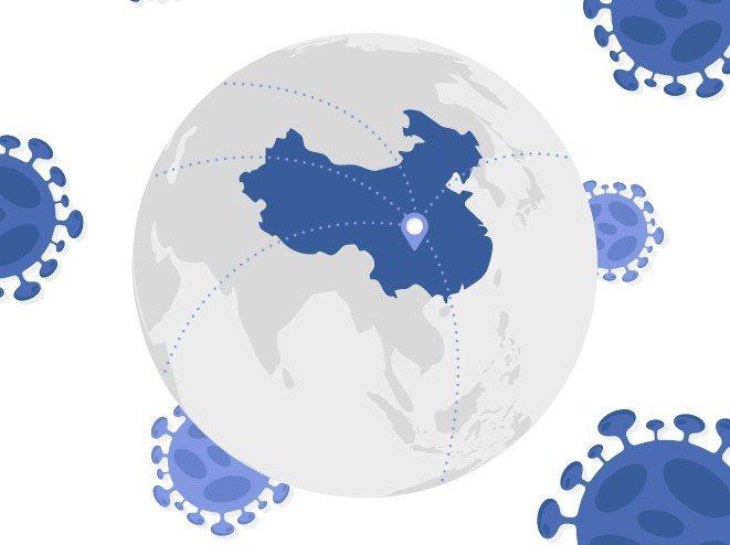 根據美國約翰霍普金斯大學的統計,全球新冠肺炎死亡人數超過7萬5000人。 圖/i...