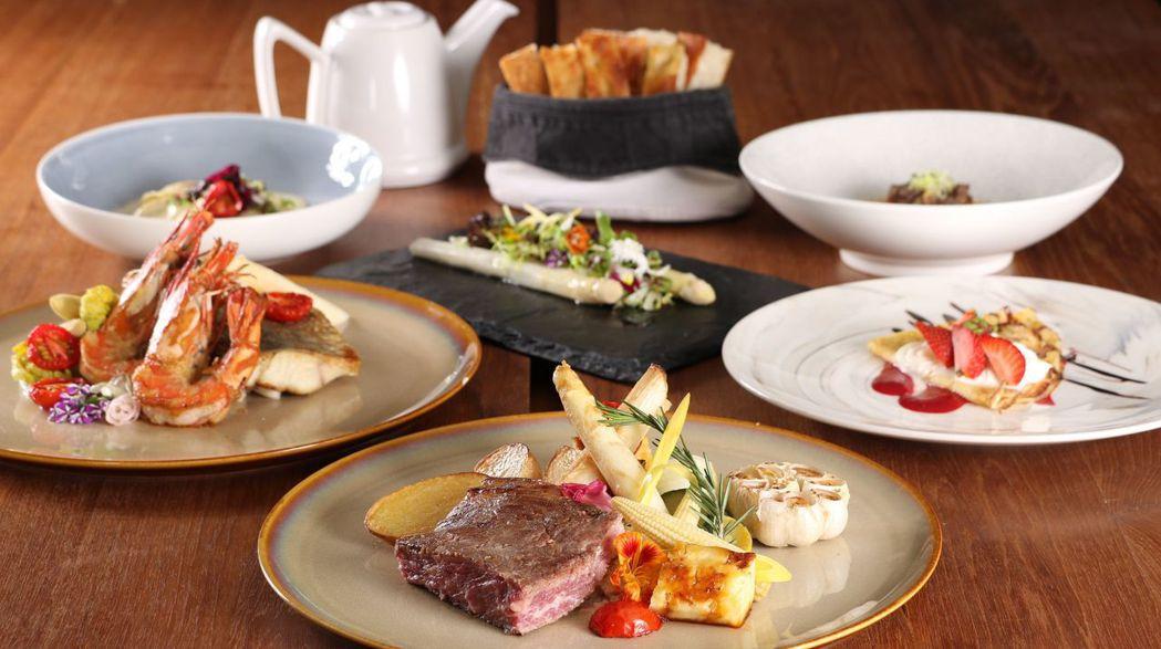 慕軒飯店GUSTOSO的白蘆筍饗宴。  慕軒飯店 提供