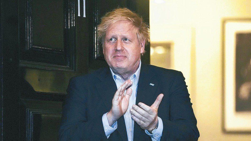 英國首相強生新冠肺炎病情惡化,周一送到倫敦一家醫院的加護病房。 美聯社