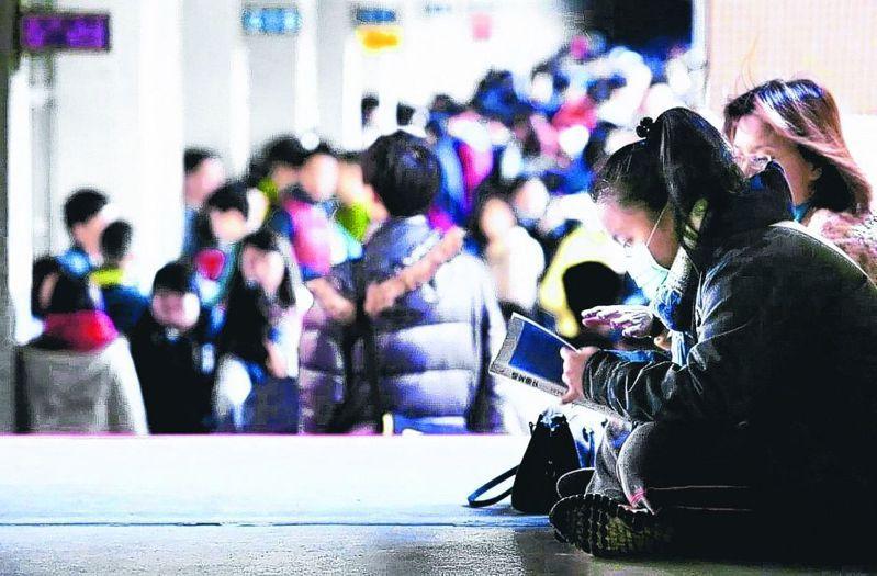 大學個人申請第一階段,本月將陸續參加二階筆面試。 圖/聯合報系資料照片