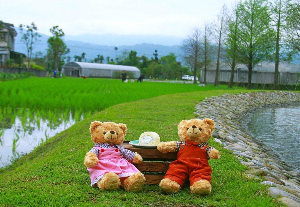 棗稻田擁有自然空曠、充滿田園樂趣的稻田區景色。 棗稻田食玩農創空間/提供