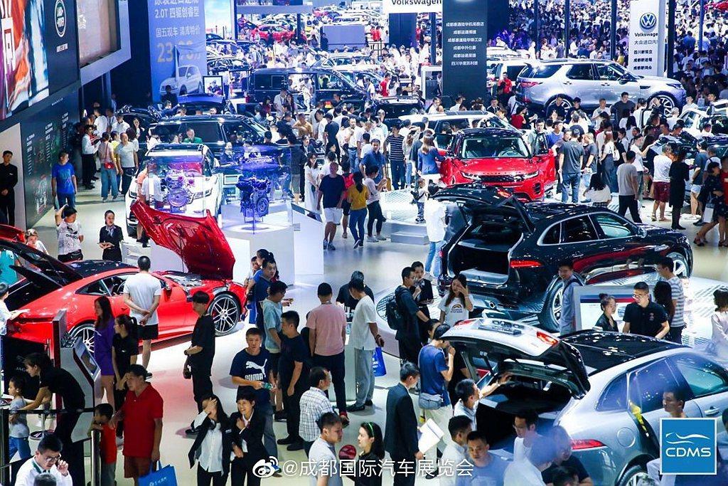 看似今年無大型車展可看的情況下,中國有機會連續舉辦兩場。 圖/摘自成都國際汽車展...