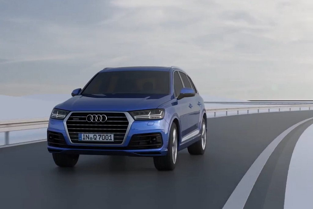 台灣奧迪推出Q7 S line進化版,導入動態全輪轉向系統。 圖/Audi提供