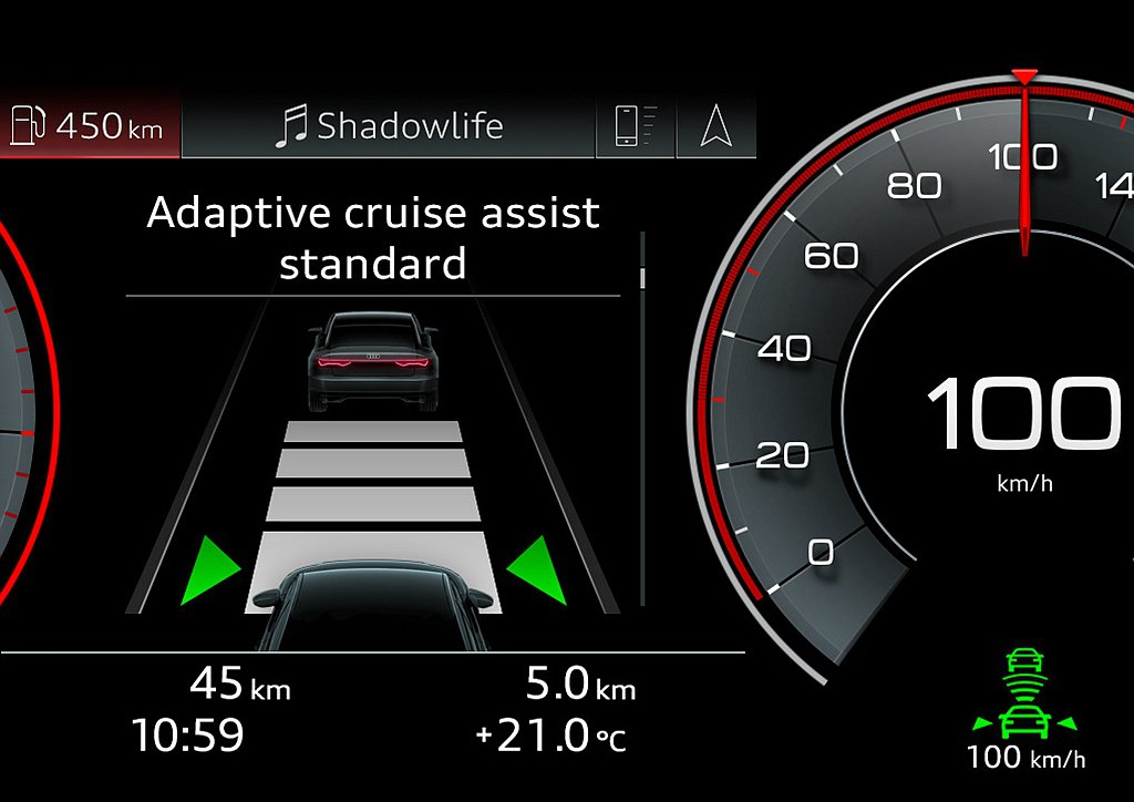 Audi Q7 S line進化版亦完善標配Audi公路行車輔助套件、都會行車輔...
