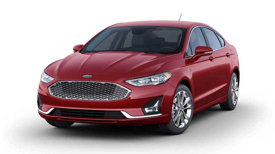Ford Fusion新車色Rapid Red Metallic。 摘自Ford