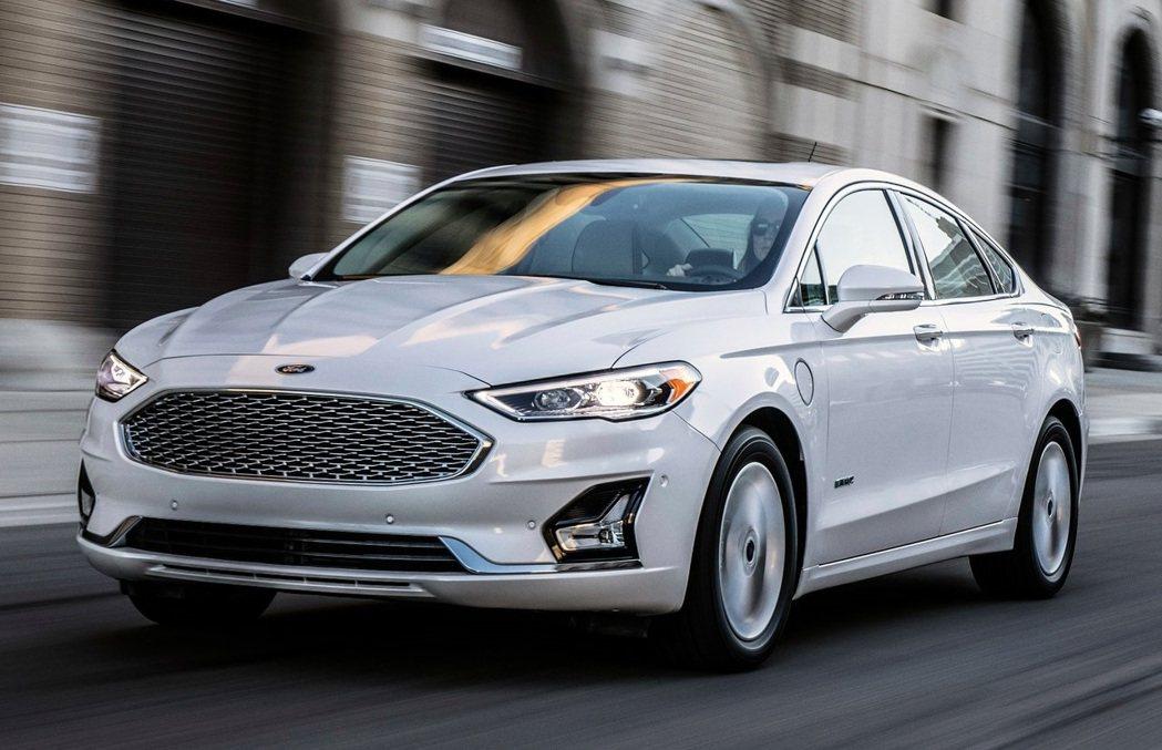 Ford Fusion今年為產品最後一年。 摘自Ford