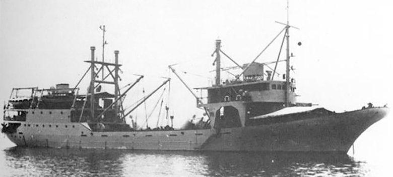 1,565噸級,被日軍打撈重新啟用的「寶嶺丸」。 圖/取自Keyのミリタリーなページ