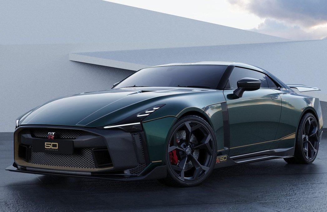 GT-R50 by Italdesign是近年改造最大的產品。 摘自Nissan