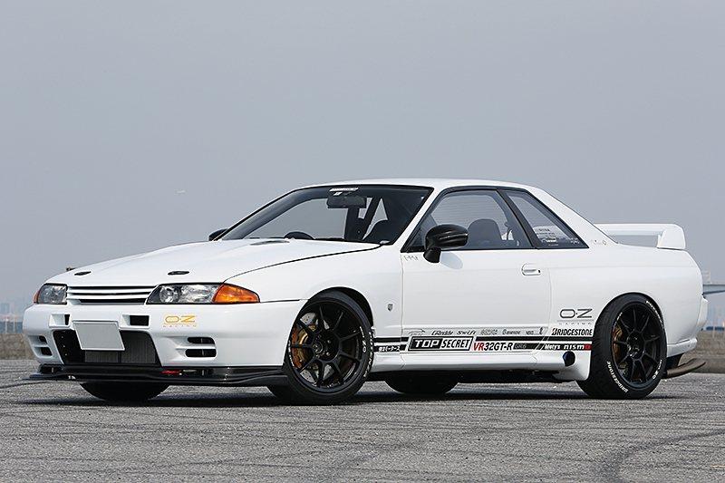TS VR32 GT-R 750R WHITE。 摘自topsecret-jpn...