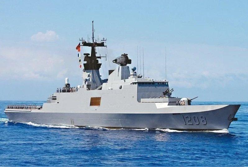 康定級承德軍艦。圖/聯合報系資料照片