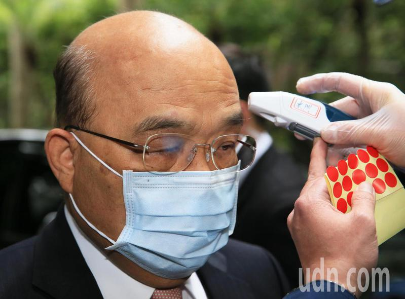 行政院長蘇貞昌。記者潘俊宏/攝影