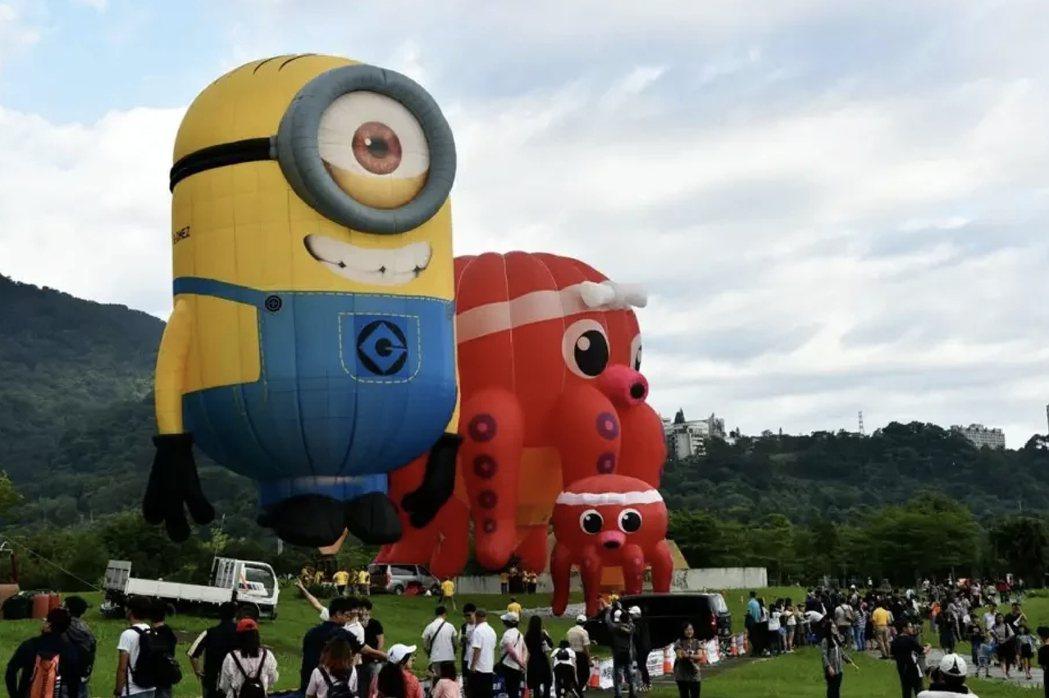 桃園石門熱氣球節今年宣布停辦。圖/市府提供