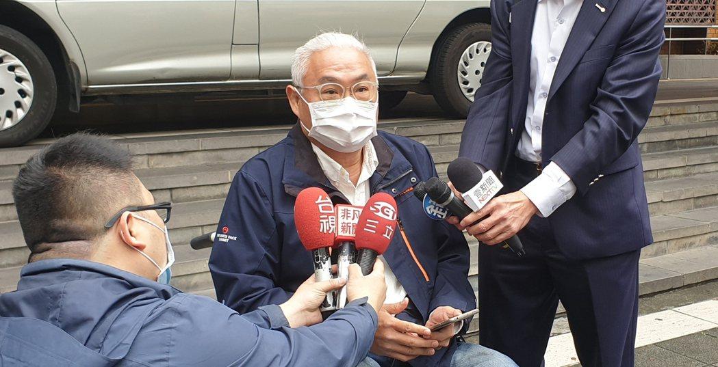 范可欽痛批李男才是詐騙犯。記者李姿瑩/攝影