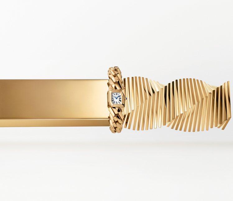 卡地亞發表2020的第一款全新創作Maillon de Cartier。圖/卡地...