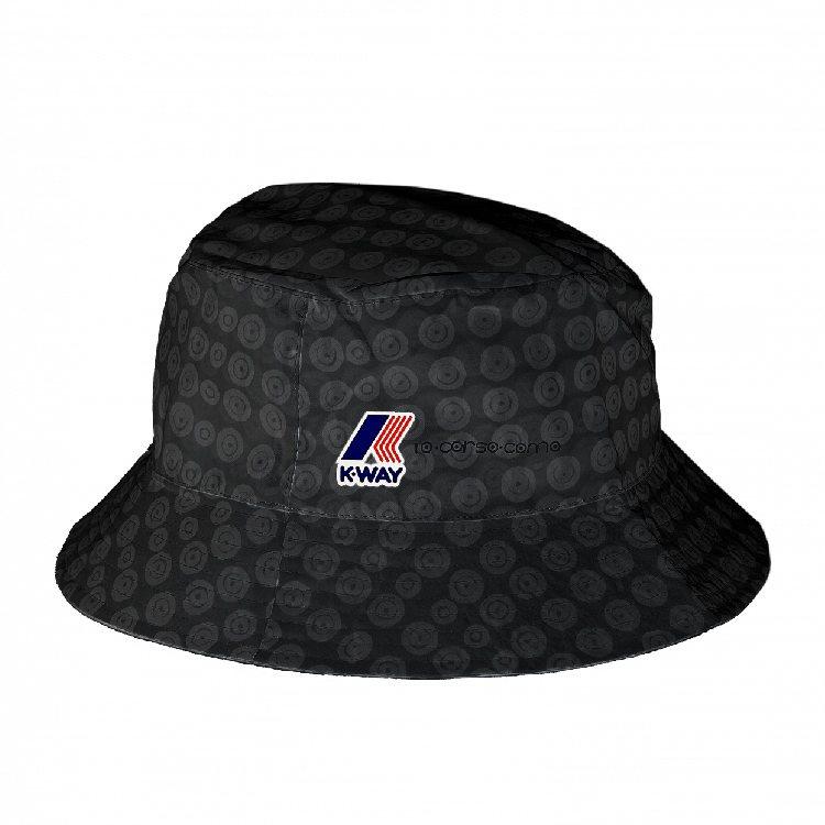 K-WAY聯名漁夫帽,售價1,080元。圖/微風精品提供