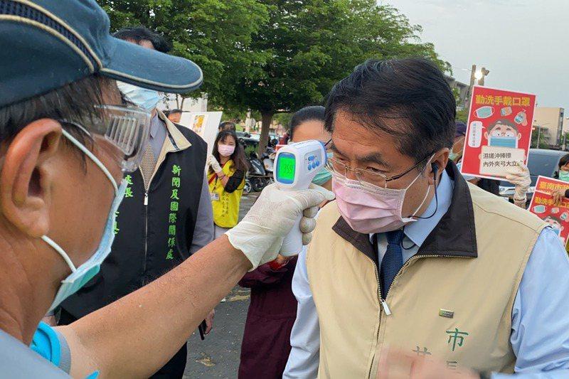 台南市長黃偉哲指台南3景點列國家級警報有點困擾,感覺有點像是亂槍打鳥。圖/聯合報系資料照片