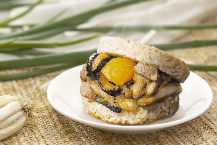 7-ELEVEN端午節預購推出「粽香滷肉米膳堡」,6入售價420元。圖/7-EL...