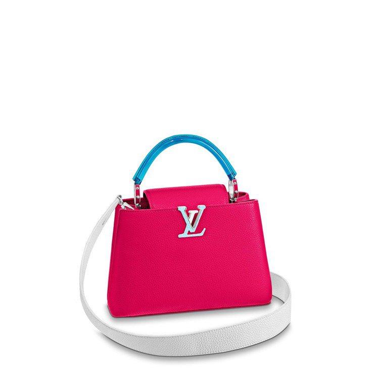 Capucines小型火龍果紅色款,售價17萬6,000元。圖/LV提供