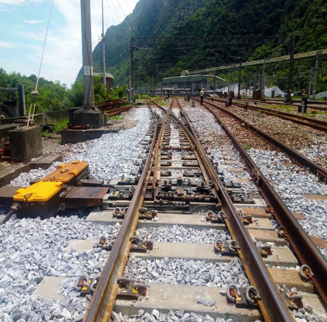 道岔示意圖。圖/台鐵局提供