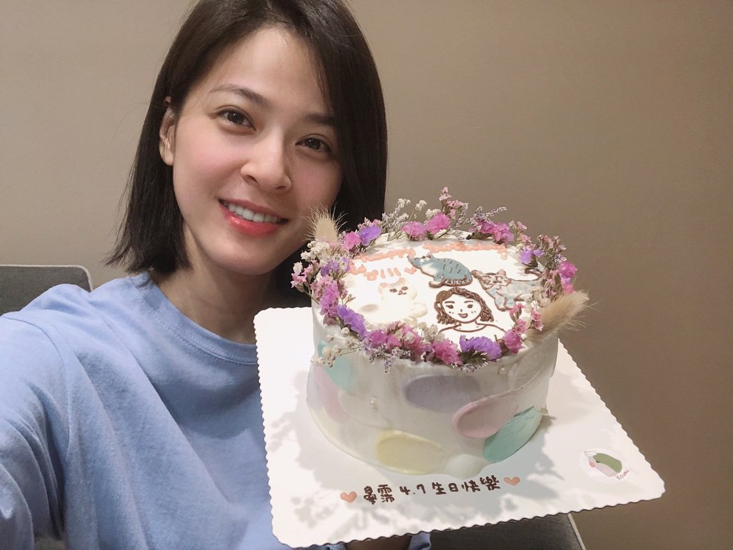 蘇晏霈過32歲生日。圖/民視提供
