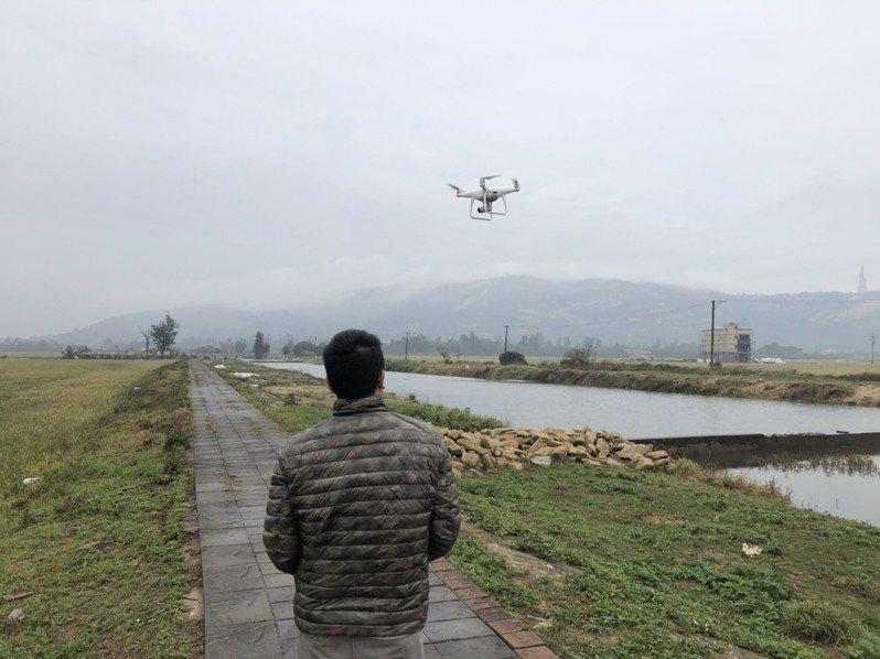 金門目前僅約一半地區可以飛行無人機,縣議員董森堡特別行文請縣府修法。圖/飛友提供