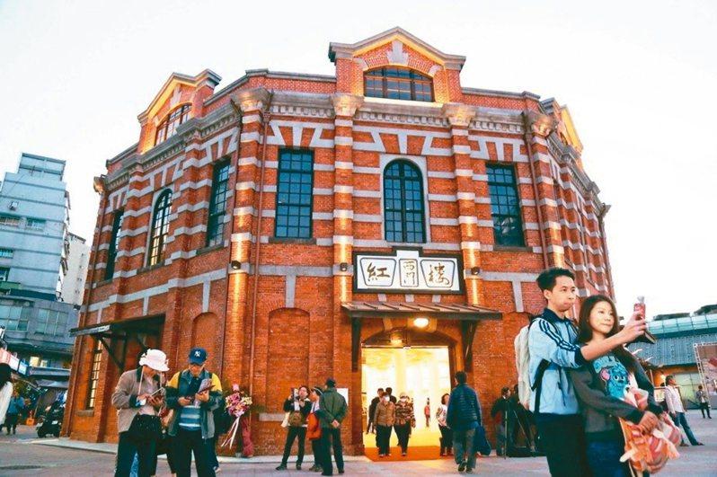 台北市日前推紓困措施,但西門紅樓等處僅減收租金20%,議員質疑難協助進駐店家。 圖/聯合報系資料照片