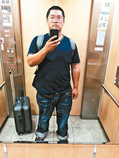 28歲謝姓男子原本體重142公斤,求助醫師後,不靠手術與藥物,減到98.3公斤。...