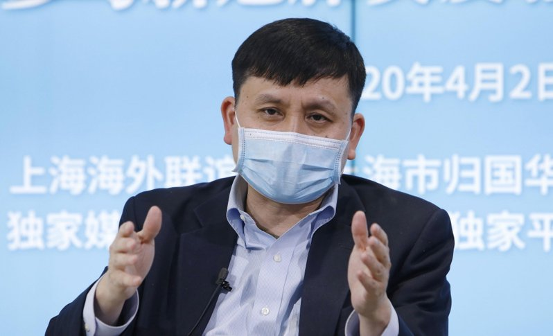復旦大學附屬華山醫院感染科主任張文宏。 中新社