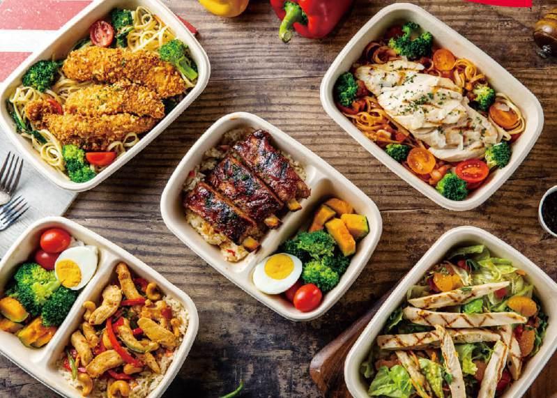 TGI FRIDAYS推外帶個人餐盒,外送平台則在4/16同步上線。圖/TGI FRIDAYS Taiwan