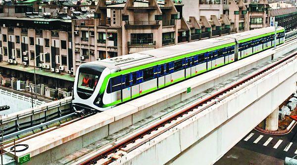 台中捷運綠線現已展開反覆測試,力保大眾運輸安全。