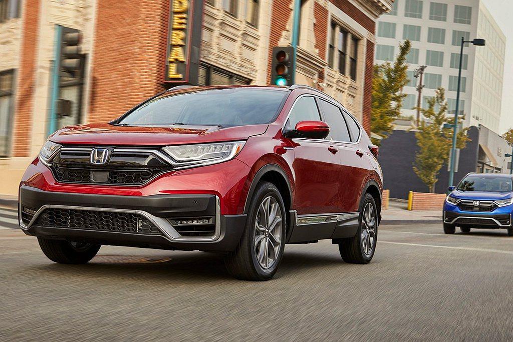 首度導入美國市場的Honda CR-V Hybrid,日前公布油耗成績與所有細節...