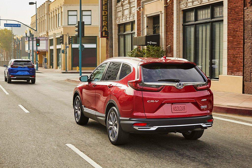 Honda CR-V Hybrid搭載2.0L DOHC i-VTEC汽油引擎,...