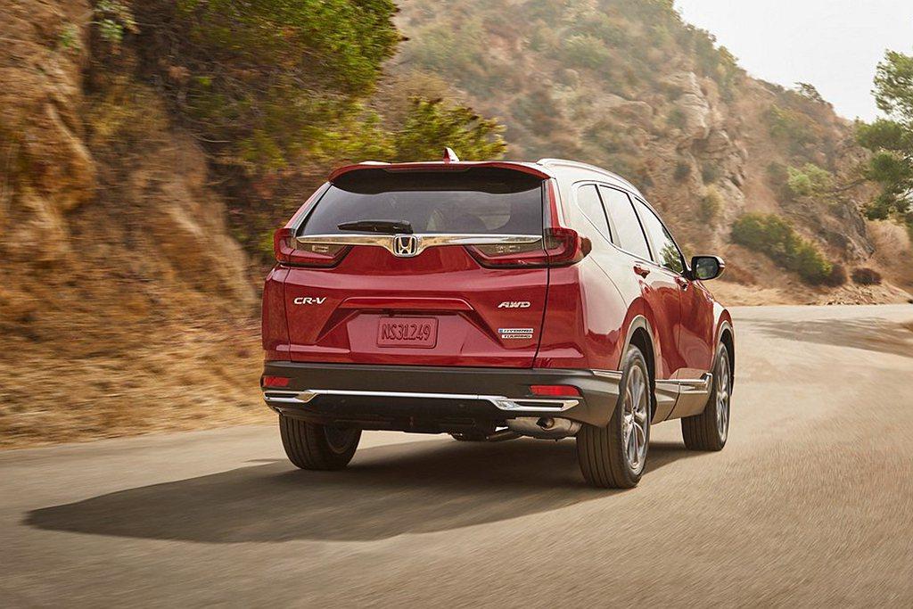 美規Honda CR-V Hybrid經過EPA測試下油耗為都會16.9km/L...